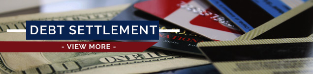 Debt Settlement for credit cards and loans